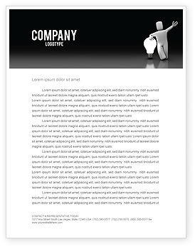 Resolution Letterhead Template, 03872, Technology, Science & Computers — PoweredTemplate.com