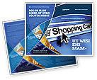 Business: Modèle de Brochure de e-panier d'achat #03878