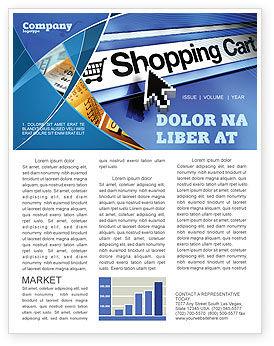 Business: e-Shopping Cart Newsletter Template #03878