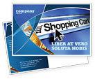 Business: e-ショッピングカート - はがきテンプレート #03878