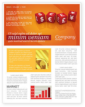 World Currency Newsletter Template