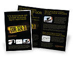 Legal: Crime Scene Brochure Template #03883