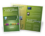 Education & Training: Innovation Cubes Brochure Template #03888