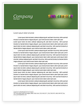 Education & Training: Innovation Cubes Letterhead Template #03888
