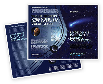 Fallen Star Brochure Template