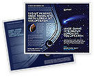 Technology, Science & Computers: Fallen Star Brochure Template #03889