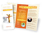 Business Concepts: Victory In The Race Brochure Template #03896