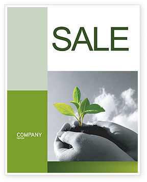 Nature & Environment: New Sprout Sale Poster Template #03899