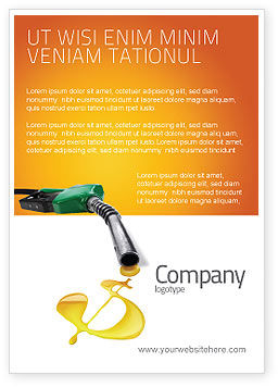 Fuel Prices Ad Template, 03903, Financial/Accounting — PoweredTemplate.com