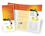Financial/Accounting: Modello Brochure - I prezzi dei carburanti #03903