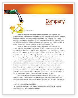 Fuel Prices Letterhead Template