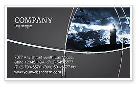 Business Concepts: Pharos Business Card Template #03906