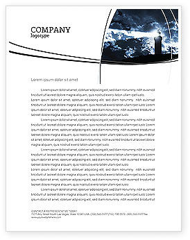 Business Concepts: Pharos Letterhead Template #03906