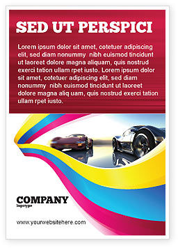 Concept Cars Ad Template, 03909, Cars/Transportation — PoweredTemplate.com