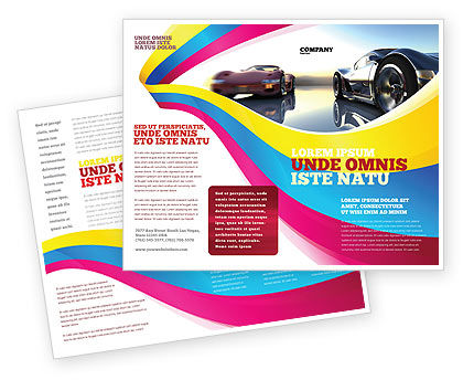 Concept Cars Brochure Template