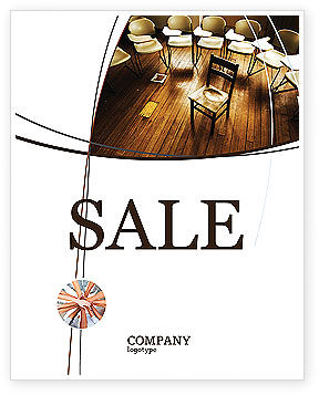 Gestalt Therapy Sale Poster Template, 03912, Consulting — PoweredTemplate.com