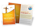 Business Concepts: Ropewalker Brochure Template #03913