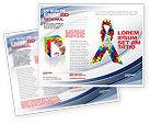 Religious/Spiritual: Plantilla de folleto - cinta #03914