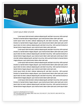 General: Casual Fashion Letterhead Template #03920