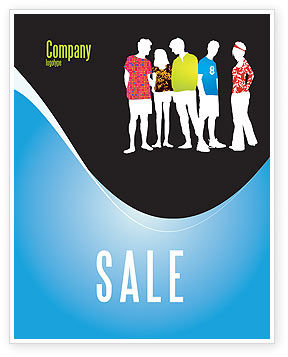 General: Casual Fashion Sale Poster Template #03920