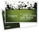 Business: Dice In Game Postcard Template #03923