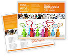 Consulting: Talk Brochure Template #03925