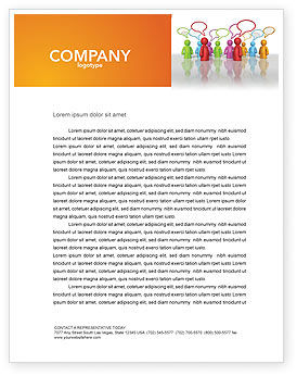 Talk Letterhead Template