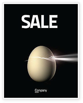 Birth Sale Poster Template, 03926, Business Concepts — PoweredTemplate.com