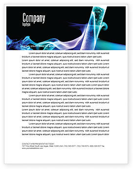 Technology, Science & Computers: Industrial Chemistry Letterhead Template #03927
