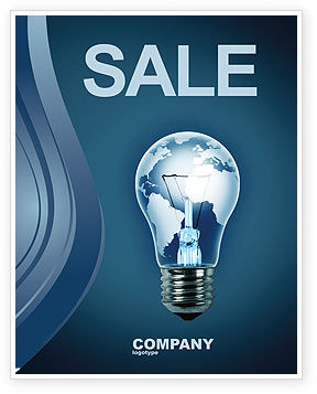 Global: Technological Progress Sale Poster Template #03929