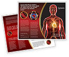 Medical: Blood Vascular System Brochure Template #03930