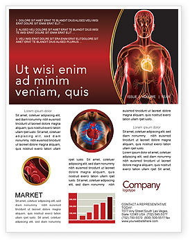 Blood Vascular System Newsletter Template