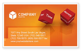 Risk Management Business Card Template, 03934, Consulting — PoweredTemplate.com