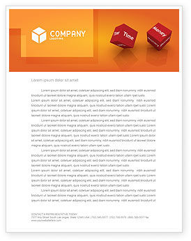 Risk Management Letterhead Template, 03934, Consulting — PoweredTemplate.com