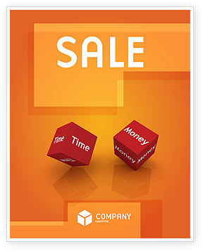 Consulting: Risk Management Sale Poster Template #03934