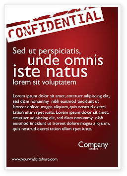 Careers/Industry: Privaat Advertentie Template #03935