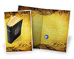 Religious/Spiritual: Christian Bible Brochure Template #03936