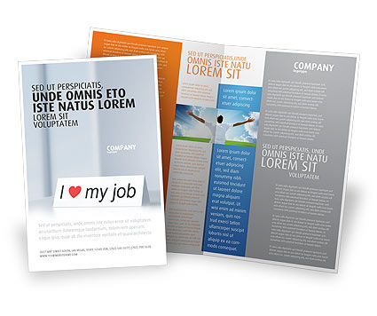Consulting: Work Motivation Brochure Template #03938