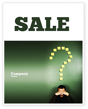 Consulting: Crisis Sale Poster Template #03939