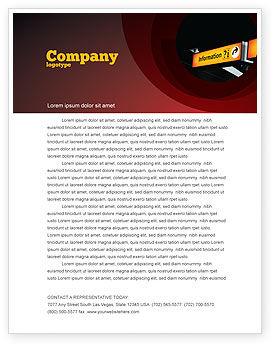 Consulting: Informationsbüro Briefkopf Vorlage #03942