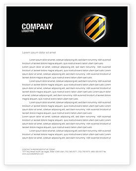 Careers/Industry: Occupational Safety Letterhead Template #03946