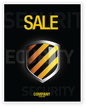 Occupational Safety Sale Poster Template