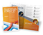 Business Concepts: Non-standard Approach Brochure Template #03948