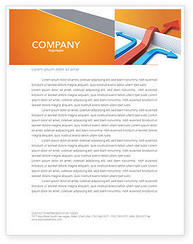 Business Concepts: Non-standard Approach Letterhead Template #03948