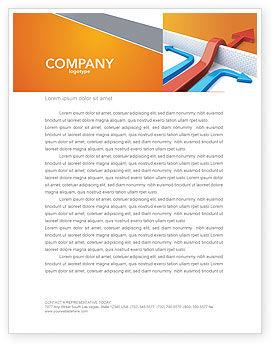 Business Concepts: Templat Kop Surat Pendekatan Non-standar #03948