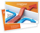 Business Concepts: Non-standard Approach Postcard Template #03948