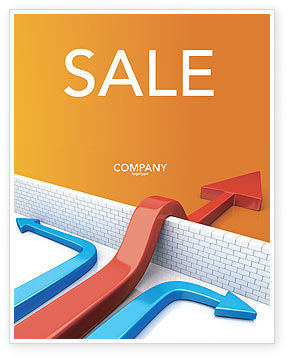 Business Concepts: Non-standard Approach Sale Poster Template #03948