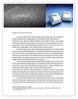 Business Concepts: eCommerce Letterhead Template #03949