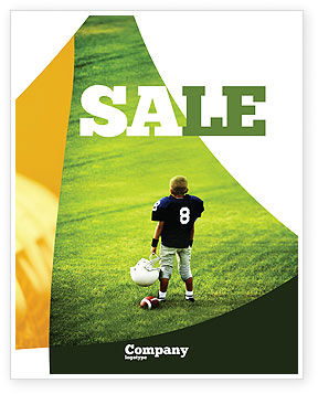 Sports: American Football Op School Poster Template #03952