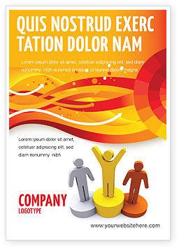 Consulting: Eerste Prijs Advertentie Template #03953